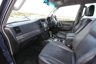 2008 Mitsubishi Pajero NS 25th Anniversary Blue 5 Speed Sports Automatic Wagon