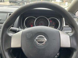 2006 Nissan Tiida C11 ST Black 4 Speed Automatic Sedan