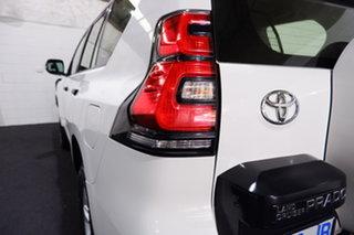 2018 Toyota Landcruiser Prado GDJ150R GX Glacier White 6 Speed Sports Automatic Wagon
