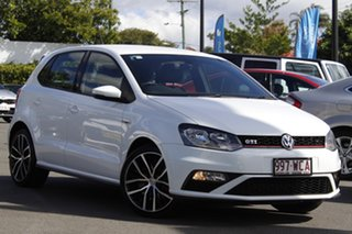 2015 Volkswagen Polo 6R MY15 GTI DSG White 7 Speed Sports Automatic Dual Clutch Hatchback.