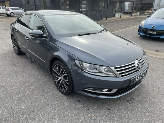 Used Volkswagen CC Type 3CC MY13 125TDI DSG Gepps Cross, 2012 Volkswagen CC Type 3CC MY13 125TDI DSG Grey 6 Speed Sports Automatic Dual Clutch Coupe