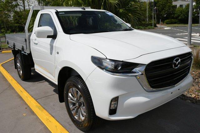 New Mazda BT-50 TFS40J XT Bundamba, 2020 Mazda BT-50 TFS40J XT Ice White 6 Speed Manual Cab Chassis