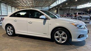 2012 Holden Cruze JH Series II MY12 SRi-V White 6 Speed Manual Sedan.