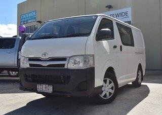 2011 Toyota HiAce TRH201R MY11 Upgrade LWB 4 Speed Automatic Van.