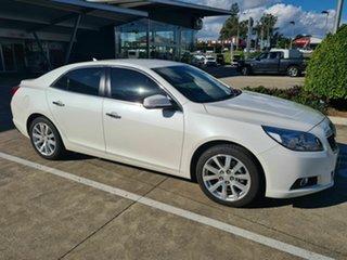 2015 Holden Malibu V300 MY15 CDX White 6 Speed Sports Automatic Sedan.