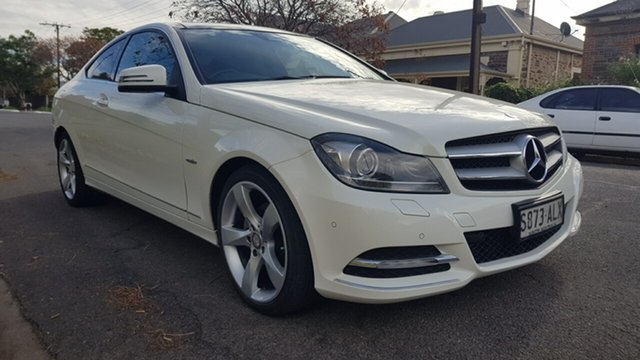 Used Mercedes-Benz C250 W204 MY11 BE Prospect, 2011 Mercedes-Benz C250 W204 MY11 BE White 7 Speed Automatic G-Tronic Coupe