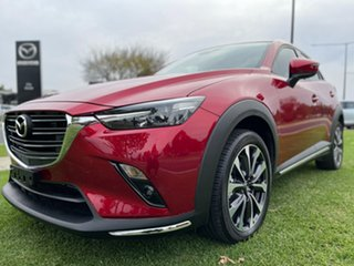 2019 Mazda CX-3 DK2W76 sTouring SKYACTIV-MT FWD Soul Red 6 Speed Manual Wagon