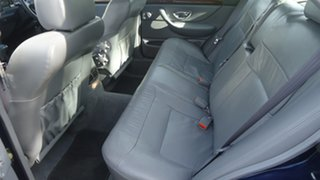 1997 Ford Fairmont EL Ghia Blue 4 Speed Automatic Sedan