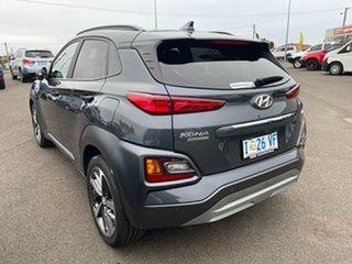 2019 Hyundai Kona OS.3 MY20 Highlander D-CT AWD Dark Knight & Black Roof 7 Speed.