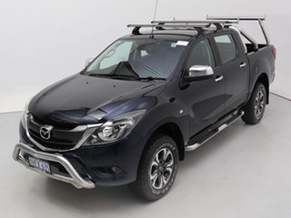 2016 Mazda BT-50 MY16 XTR (4x4) Blue 6 Speed Automatic Dual Cab Utility