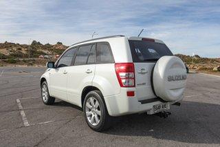 2010 Suzuki Grand Vitara JB MY09 Prestige White 5 Speed Automatic Wagon