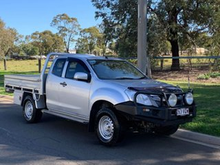 2015 Isuzu D-MAX TF MY15 SX (4x4) Silver 5 Speed Automatic Space Cab Chassis.