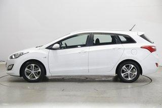 2015 Hyundai i30 GDe3 Series II MY16 Tourer DCT Polar White 7 Speed Sports Automatic Dual Clutch.