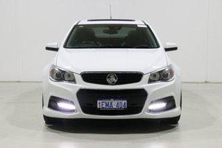 2013 Holden Commodore VF SS-V Redline Heron White 6 Speed Automatic Sedan.