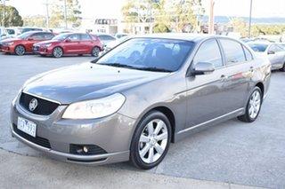 2009 Holden Epica EP MY09 CDXi Grey 6 Speed Sports Automatic Sedan.