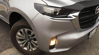 2020 Mazda BT-50 TFR40J XT 4x2 Ingot Silver 6 Speed Sports Automatic Cab Chassis.