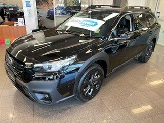 2021 Subaru Outback B7A MY21 AWD Sport CVT Crystal Black 8 Speed Constant Variable Wagon.