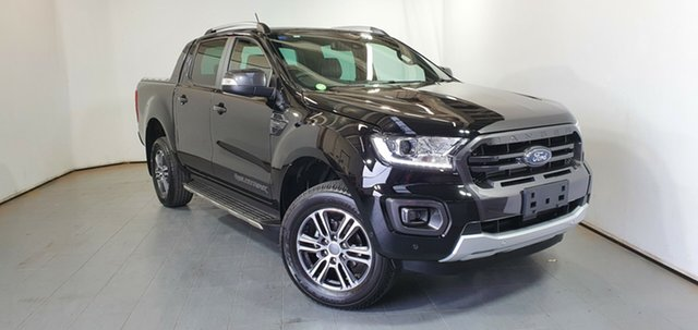 Used Ford Ranger PX MkIII 2020.25MY Wildtrak Elizabeth, 2020 Ford Ranger PX MkIII 2020.25MY Wildtrak Black 10 Speed Sports Automatic Double Cab Pick Up