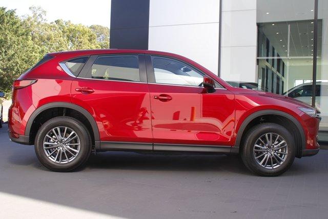 New Mazda CX-5 KF2W7A Maxx SKYACTIV-Drive FWD Sport Newstead, 2021 Mazda CX-5 KF2W7A Maxx SKYACTIV-Drive FWD Sport Soul Red Crystal 6 Speed Sports Automatic Wagon