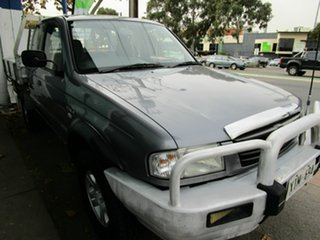 2006 Mazda B2500 Bravo SDX (4x4) Grey 5 Speed Manual Freestyle Pickup.