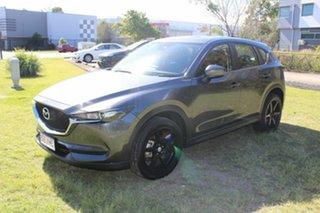 2017 Mazda CX-5 KF2W76 Maxx SKYACTIV-MT FWD Grey 6 Speed Manual Wagon.
