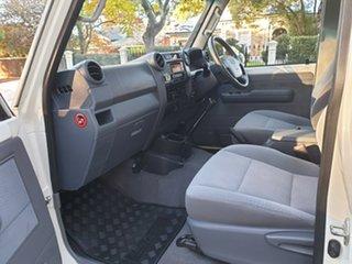 2016 Toyota Landcruiser VDJ79R GXL White 5 Speed Manual Cab Chassis