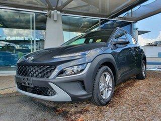 2021 Hyundai Kona Os.v4 MY21 2WD Dark Knight 8 Speed Constant Variable Wagon.