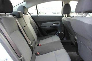 2010 Holden Cruze JG CD White 6 Speed Sports Automatic Sedan