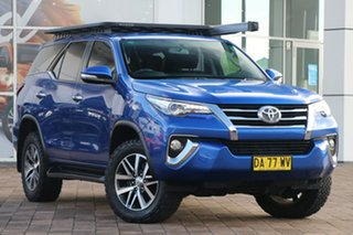 2015 Toyota Fortuner GUN156R Crusade Blue 6 Speed Automatic SUV.