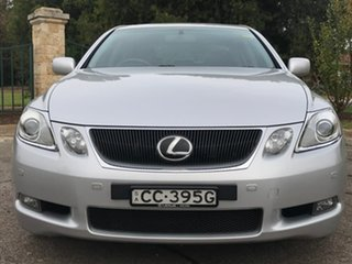 2006 Lexus GS GRS190R GS300 Sports Luxury Silver 6 Speed Sports Automatic Sedan.
