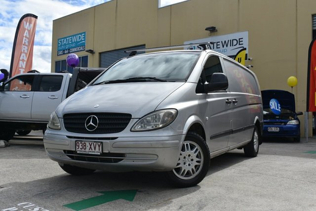 Used Mercedes-Benz Vito 109CDI Extra Long Capalaba, 2006 Mercedes-Benz Vito 109CDI Extra Long 6 Speed Manual Van