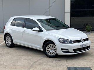2015 Volkswagen Golf VII MY15 90TSI DSG White 7 Speed Sports Automatic Dual Clutch Hatchback.