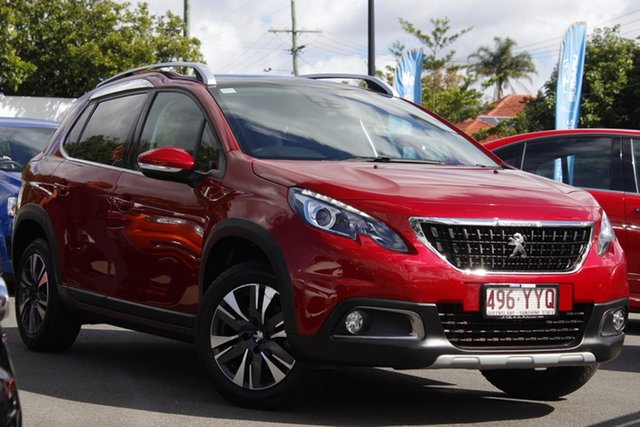 Used Peugeot 2008 A94 MY18 Allure Mount Gravatt, 2018 Peugeot 2008 A94 MY18 Allure Red 6 Speed Sports Automatic Wagon
