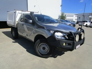 2015 Mazda BT-50 UP0YF1 XT Freestyle Silver 6 Speed Sports Automatic Cab Chassis.