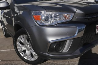 2018 Mitsubishi ASX XC MY19 ES 2WD Titanium 1 Speed Constant Variable Wagon.