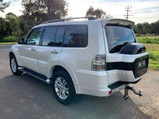 2019 Mitsubishi Pajero NX Exceed White Sports Automatic Wagon.