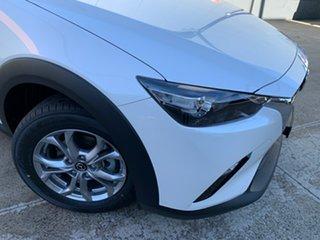 2021 Mazda CX-3 DK2W76 Maxx SKYACTIV-MT FWD Sport Snowflake White 6 Speed Manual Wagon.