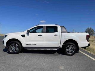 2020 Ford Ranger PX MkIII 2021.25MY Wildtrak Alabaster White 10 Speed Sports Automatic.