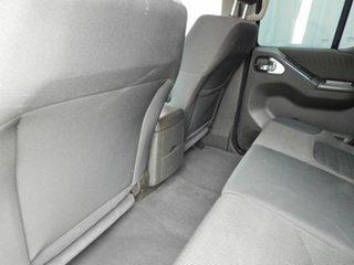 2010 Nissan Navara D40 MY10 ST-X Silver 5 Speed Automatic Utility