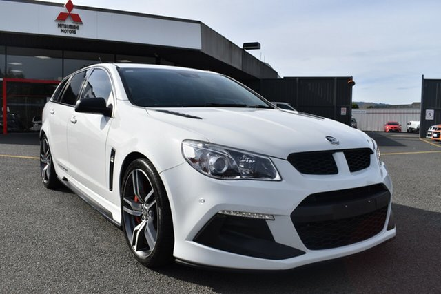 Used Holden Special Vehicles ClubSport Gen-F2 MY16 R8 Tourer LSA Wantirna South, 2016 Holden Special Vehicles ClubSport Gen-F2 MY16 R8 Tourer LSA White 6 Speed Sports Automatic