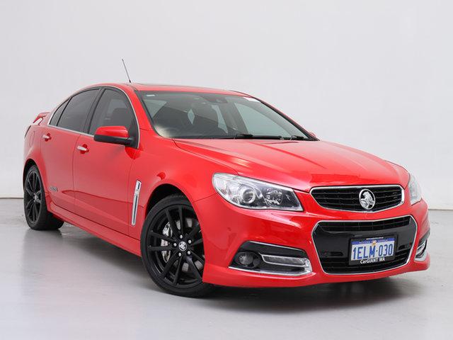 Used Holden Commodore VF SS-V Redline, 2014 Holden Commodore VF SS-V Redline Red 6 Speed Automatic Sedan