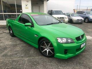 2008 Holden Ute VE SV6 Green 6 Speed Manual Utility.