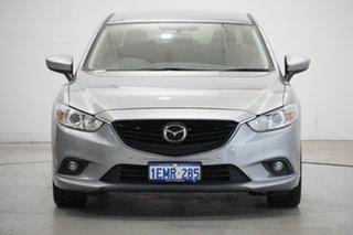 2013 Mazda 6 GJ1031 Touring SKYACTIV-Drive Silver 6 Speed Sports Automatic Sedan.