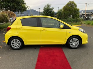 2016 Toyota Yaris NCP131R SX Yellow 4 Speed Automatic Hatchback.