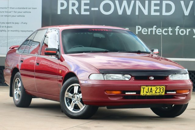 Pre-Owned Toyota Lexcen VR CSi Guildford, 1994 Toyota Lexcen VR CSi Red 4 Speed Automatic Sedan