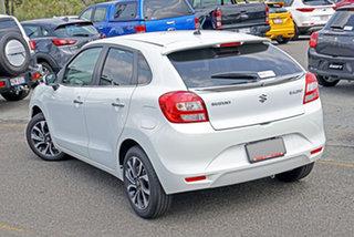 2021 Suzuki Baleno EW Series II GLX White 4 Speed Automatic Hatchback.