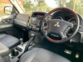 2019 Mitsubishi Pajero NX Exceed White Sports Automatic Wagon