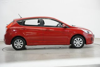 2017 Hyundai Accent RB4 MY17 Active Red 6 Speed Constant Variable Hatchback