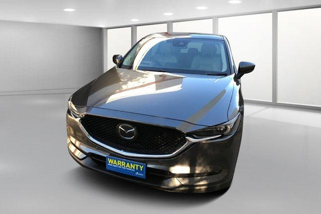 Used Mazda CX-5 KE1032 Akera SKYACTIV-Drive i-ACTIV AWD West Footscray, 2017 Mazda CX-5 KE1032 Akera SKYACTIV-Drive i-ACTIV AWD Charcoal 6 Speed Sports Automatic Wagon