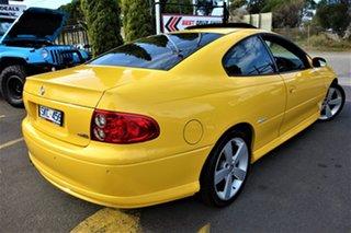 2003 Holden Monaro V2 Series III CV8 Yellow 6 Speed Manual Coupe.